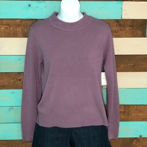 New Sag Harbor Petite Long Sleeve Sweater